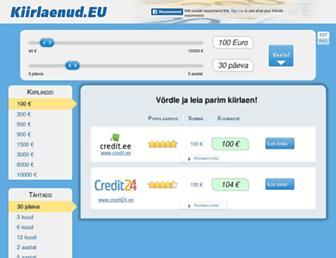 Main page screenshot of 3dnews.ee