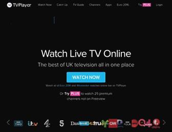 tvplayer.com screenshot