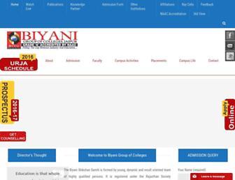 Thumbshot of Biyanicolleges.org