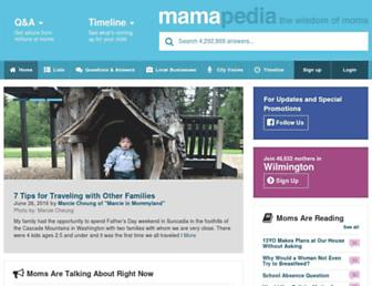 Thumbshot of Mamapedia.com