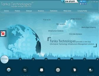 tarikatechnologies.com screenshot