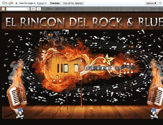 elrincondelrockblues.blogspot.com screenshot