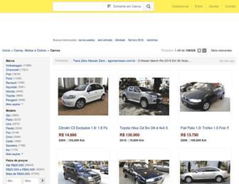 carros.mercadolivre.com.br screenshot