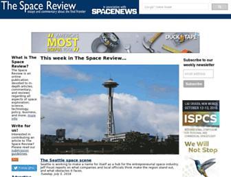 thespacereview.com screenshot