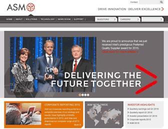 asm.com screenshot