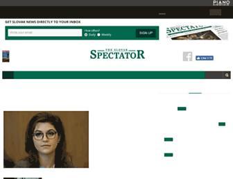 spectator.sme.sk screenshot