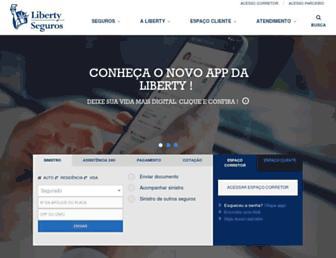 libertyseguros.com.br screenshot