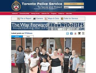torontopolice.on.ca screenshot