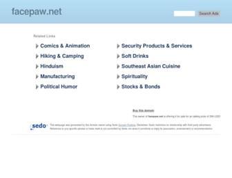 Main page screenshot of gms.facepaw.net