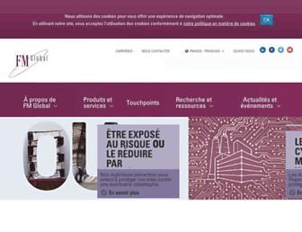 fmglobal.fr screenshot
