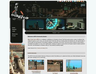 community.multitheftauto.com screenshot