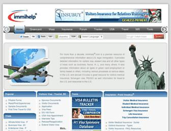 Thumbshot of Immihelp.com