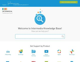 kb.intermedia.net screenshot
