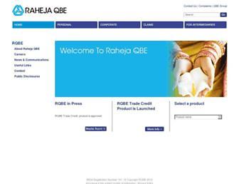 rahejaqbe.com screenshot