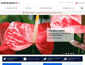 Thumbshot of Airfrance.it
