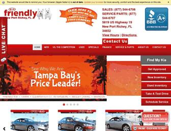 friendlykia.com screenshot