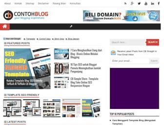 contohblog.com screenshot