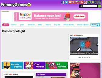 primarygames.com screenshot