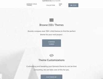 Thumbshot of Genesisdesignr.com