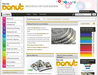 Thumbshot of Lawdonut.co.uk