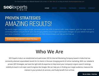 seoexpertsindia.com screenshot