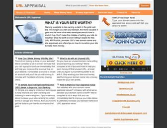 Thumbshot of Urlappraisal.net
