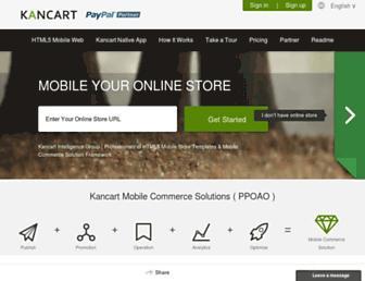 Thumbshot of Kancart.com