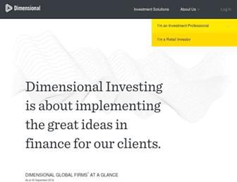 eu.dimensional.com screenshot