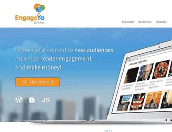 Thumbshot of Engageya.com