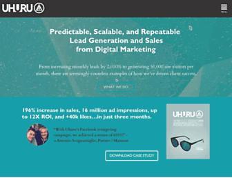 uhurunetwork.com screenshot