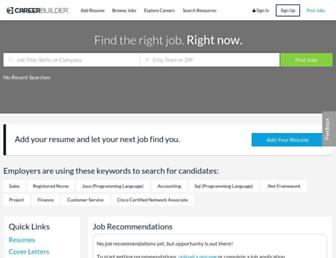Thumbshot of Careerbuilder.com