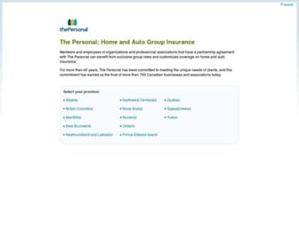 thepersonal.com screenshot
