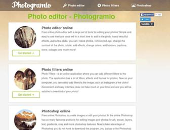 Thumbshot of Photogramio.com