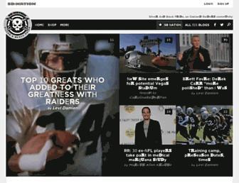 silverandblackpride.com screenshot
