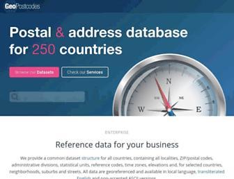 Thumbshot of Geopostcodes.com