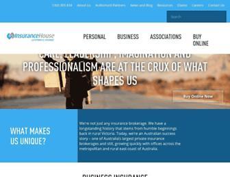insurancehouse.com.au screenshot
