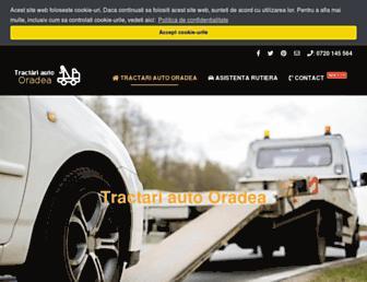tractari-auto.net screenshot