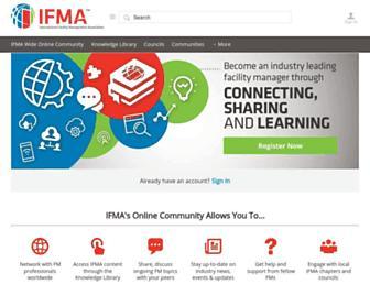 community.ifma.org screenshot