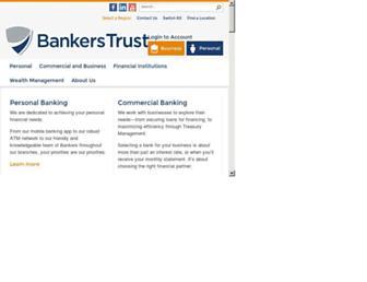 bankerstrust.com screenshot