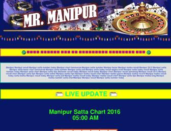 mrmanipur.com screenshot