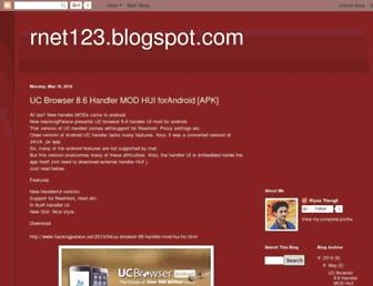 rnet123.blogspot.com screenshot