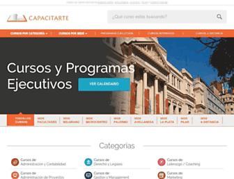 capacitarteuba.org screenshot