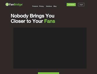 Thumbshot of Fanbridge.com