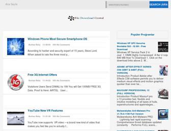 filedownloadcentral.blogspot.com screenshot