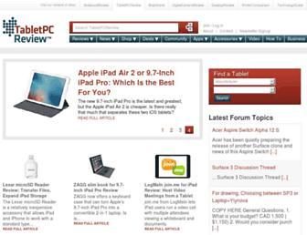 tabletpcreview.com screenshot