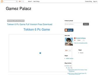 gamezpalacz.blogspot.com screenshot