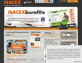 Thumbshot of Nacex.es