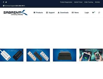 sabrent.com screenshot