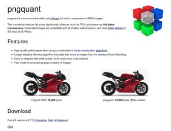pngquant.org screenshot