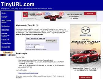 Thumbshot of Tinyurl.com